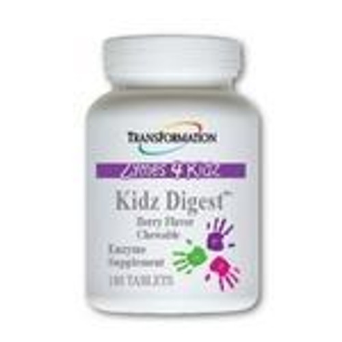 Transformation Enzymes Kidz Digest chewable 180 tablets