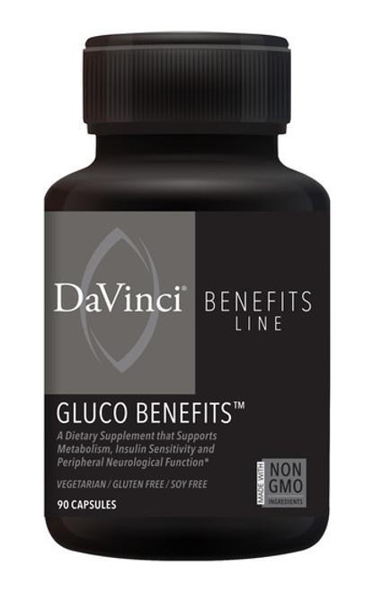 Davinci Labs GLUCO BENEFITS 90 capsules