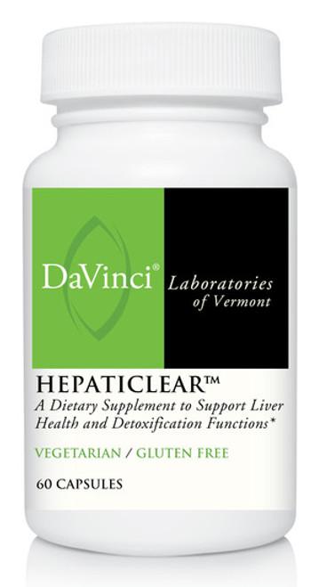 Davinci Labs HEPATICLEAR 60 capsules