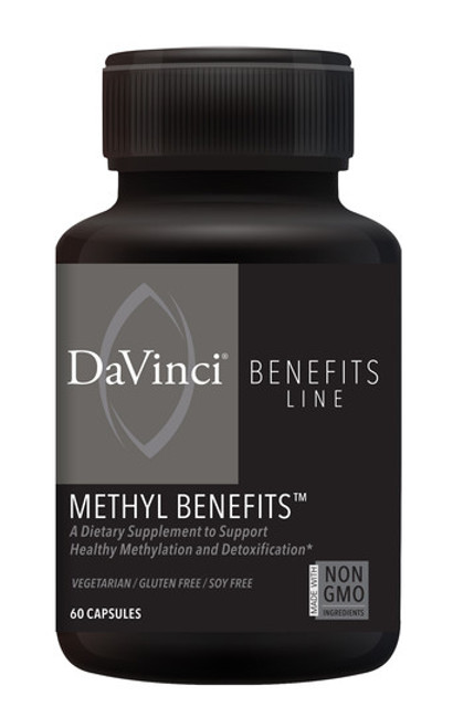 Davinci Labs METHYL BENEFITS 60 capsules