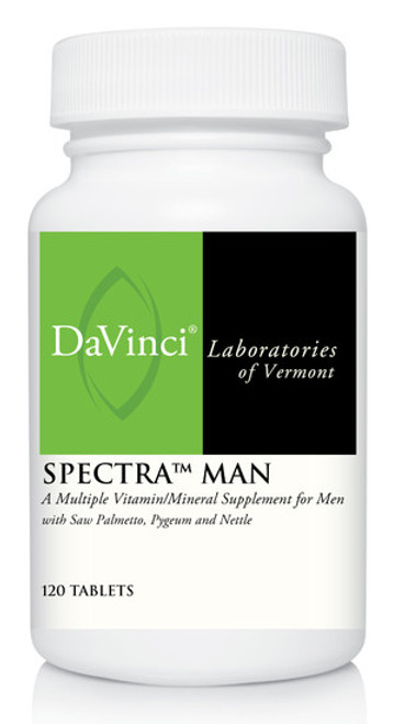 Davinci Labs SPECTRA MAN 120 Tablets
