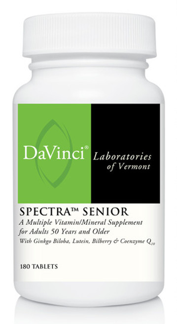 Davinci Labs SPECTRA SENIOR 180 Tablets