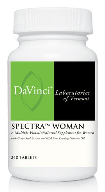 Davinci Labs SPECTRA WOMAN 240 Tablets