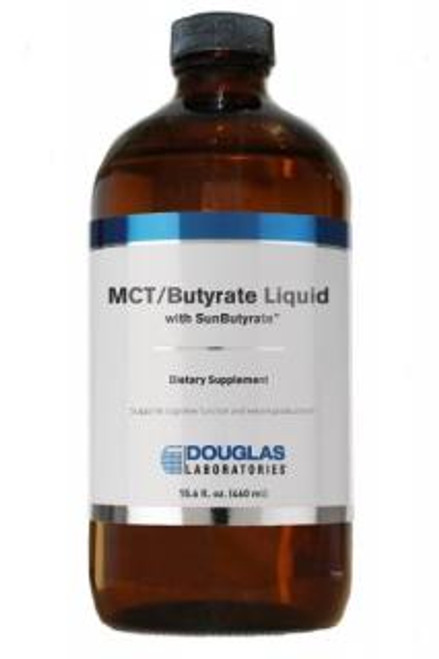 Douglas Labs MCT/Butyrate Liquid with SunButyrate 15.6 oz 460 ml