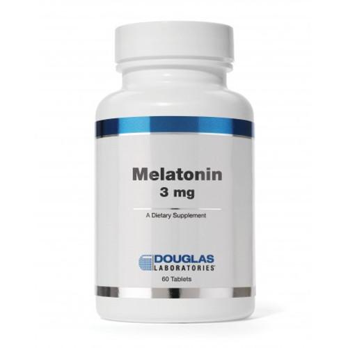 Douglas Labs Melatonin 3 mg sublingual 60 tabs