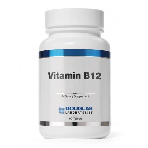 Douglas Labs Vitamin B-12 2500 mcg 60  tabs