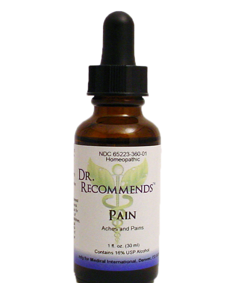Dr. Recommends Pain 1 oz
