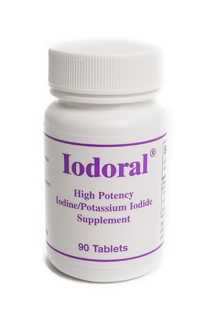 Iodoral High potency iodine/potassium iodide supplement containing 12.5mg iodine/iodide  90 tablets