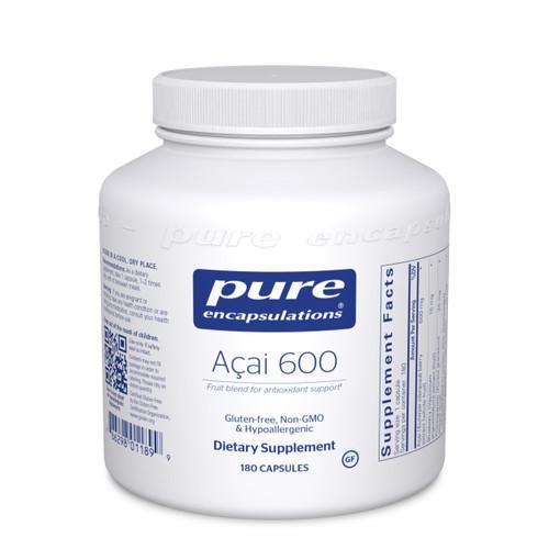Pure Encapsulations Acai 600 180 capsules