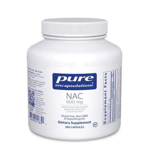 Pure Encapsulations NAC 600 Mg. 360 capsules