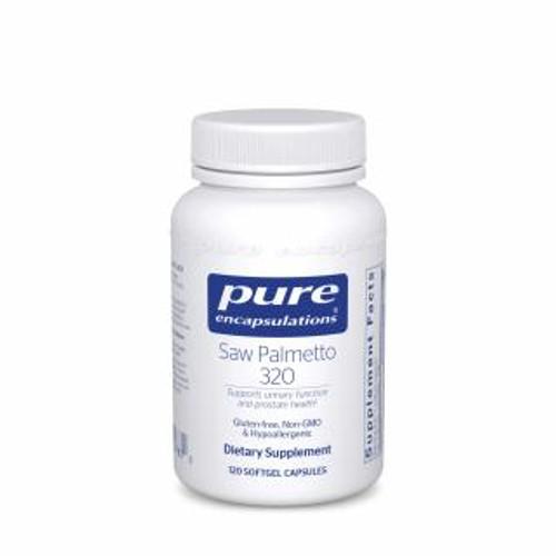 Pure Encapsulations Saw Palmetto Plus 120 gels
