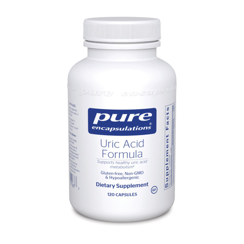 Pure Encapsulations Uric Acid Formula 120 capsules