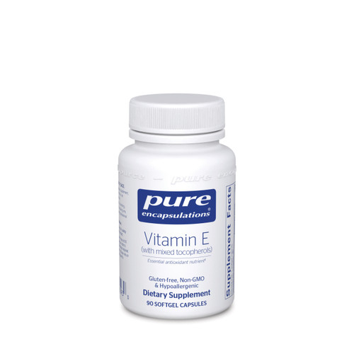 Pure Encapsulations Vitamin E (with mixed tocopherols) 90 capsules