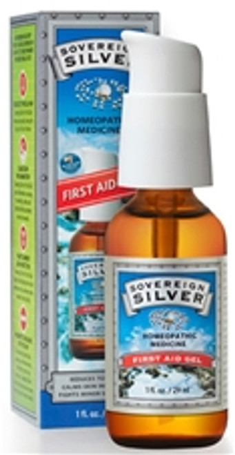 Sovereign Silver 2 oz First Aid Gel