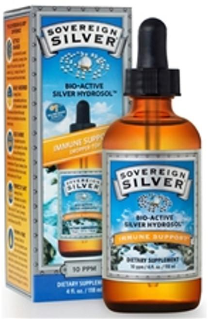 Sovereign Silver 4 oz Dropper Bottle