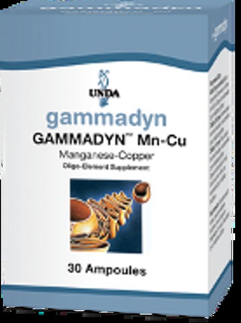 UNDA Gammadyn Mn-Cu (manganese-copper) 30 ampoules