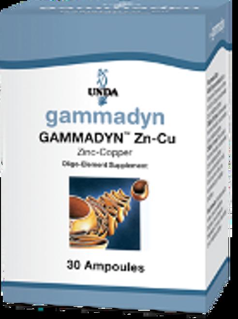 UNDA Gammadyn Zn (zinc) 30 ampoules