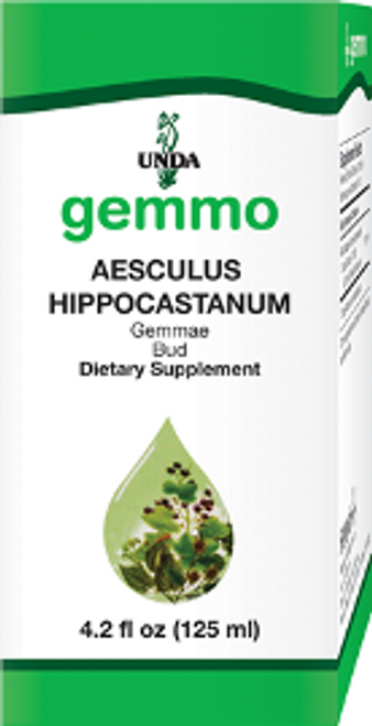 UNDA Gemmotherapy Aesculus Hippocastanum (Horse Chestnut Bud) 4.2 fl oz (125 ml)