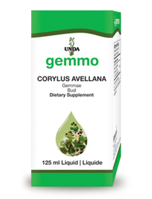 UNDA Gemmotherapy Corylus Avellana (Hazel bud) 4.2 fl oz (125 ml)