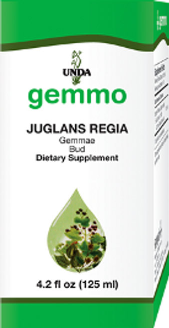 UNDA Gemmotherapy Juglans Regia (English Walnut bud) 4.2 fl oz (125 ml)