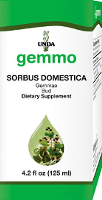 UNDA Gemmotherapy Sorbus Domestica (Service Tree bud) 4.2 fl oz (125 ml)