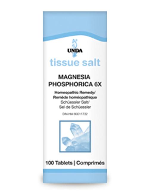 UNDA Schuessler Tissue Salts Magnesia Phosphorica 6X 100 tabs