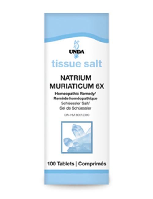 UNDA Schuessler Tissue Salts Natrium Muriaticum 6X 100 tabs