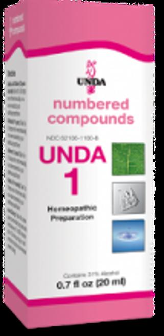 UNDA #1 0.7 fl oz (20 ml)