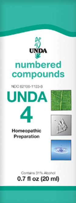 UNDA #4 0.7 fl oz (20 ml)