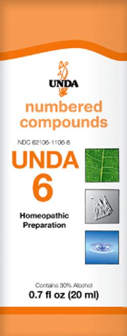 UNDA #6 0.7 fl oz (20 ml)