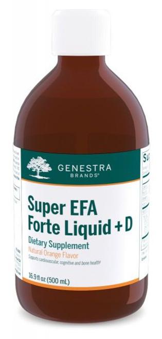 Genestra Super EFA Forte Liquid + D 15.9 fl oz (500 ml)