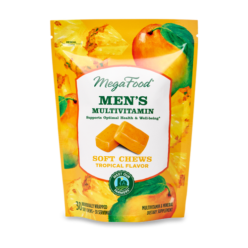 MegaFood Men's Multivitamin Soft Chew 30 count
