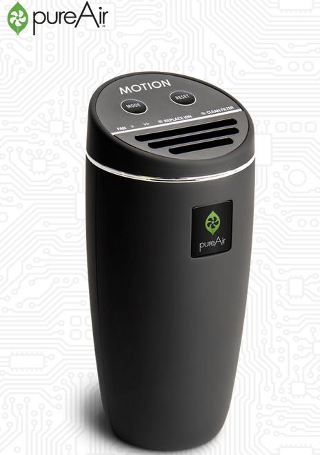 GreenTech Environmental PureAir Motion Black Air Purification System