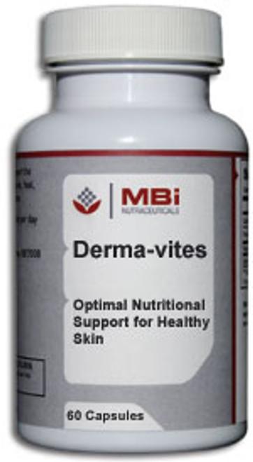 MBi Nutraceuticals Derma-vites 60 Capsules