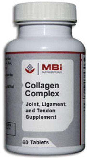 MBi Nutraceuticals Collagen Complex 60 Tablets