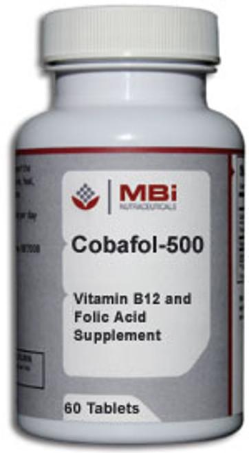 MBi Nutraceuticals Cobafol-500 SL 60 Tablets