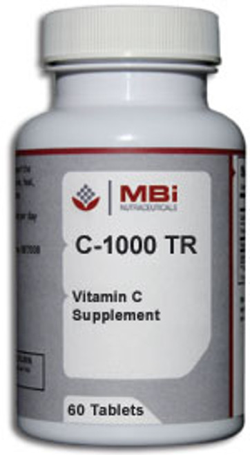 MBi Nutraceuticals C-1000 TR 60 Tablets