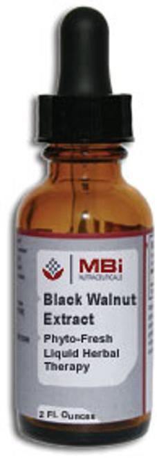 MBi Nutraceuticals Black Walnut Herbal Extract 2 oz.