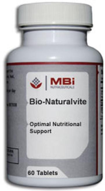 MBi Nutraceuticals Bio-Naturalvite 120 Tablets