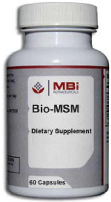 MBi Nutraceuticals Bio-MSM 180 Capsules