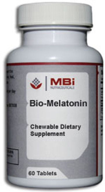 MBi Nutraceuticals Bio-Melatonin 5 mg 60 Tablets