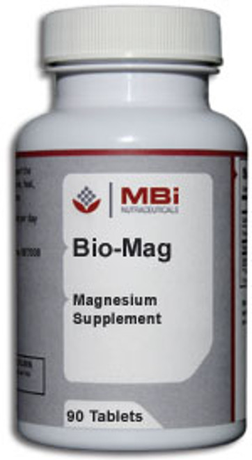 MBi Nutraceuticals Bio-Mag Magnesium 100mg 180 Tablets
