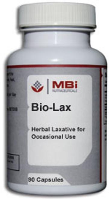 MBi Nutraceuticals Bio-Lax Herbal Combination 90 Capsules