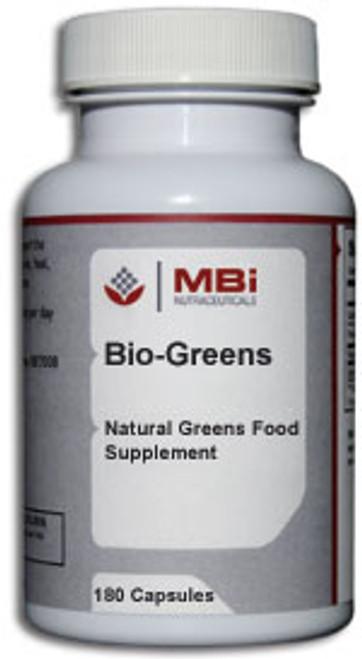 MBi Nutraceuticals Bio-Greens 120 Capsules