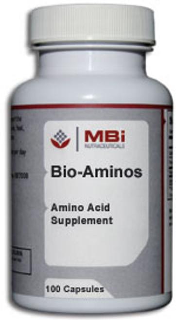 MBi Nutraceuticals Bio-Aminos 100 Capsules