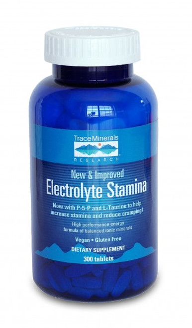 Trace Minerals Electrolyte Stamina 300 Tablets