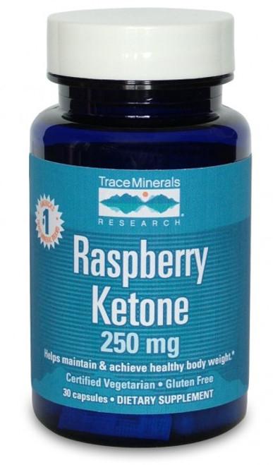 Trace Minerals Raspberry Ketone 30 Capsules