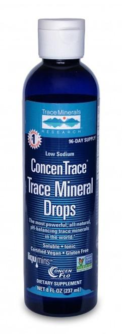 Trace Minerals ConcenTrace Trace Mineral Drops 8 oz.