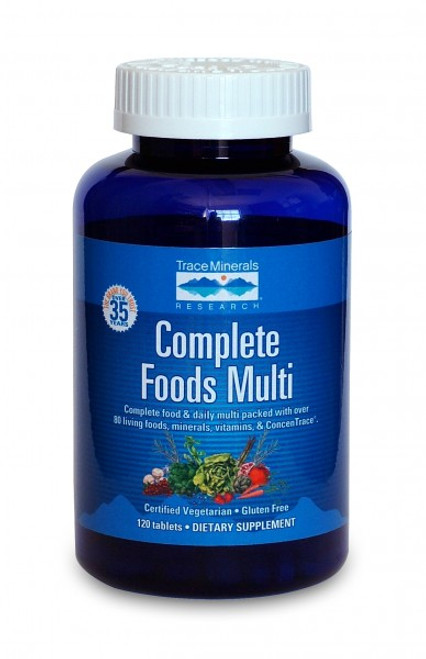 Trace Minerals Complete Foods Multi 240 Tablets