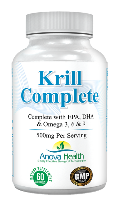 Anova Health Krill Complete 500 mg 60 softgels